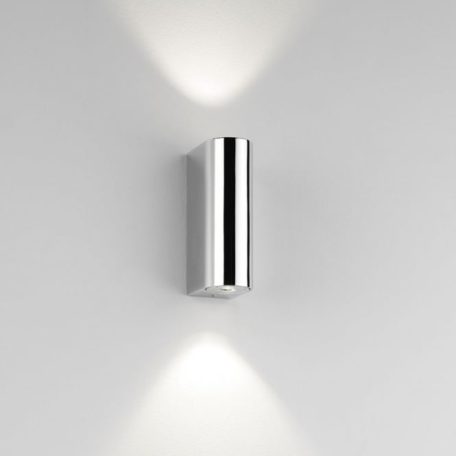 Astro Lighting Alba LED Up and Down Wall Light Chrome
