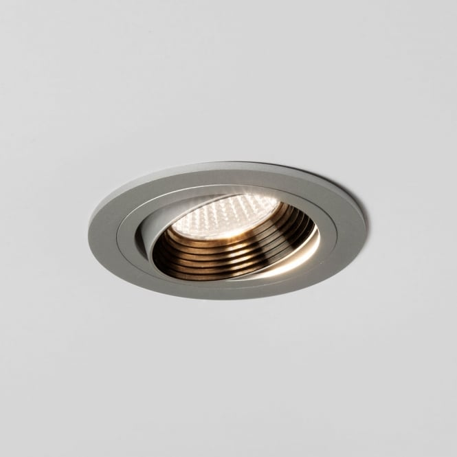 Astro Lighting Aprilia Round Adjustable Silver LED Downlight