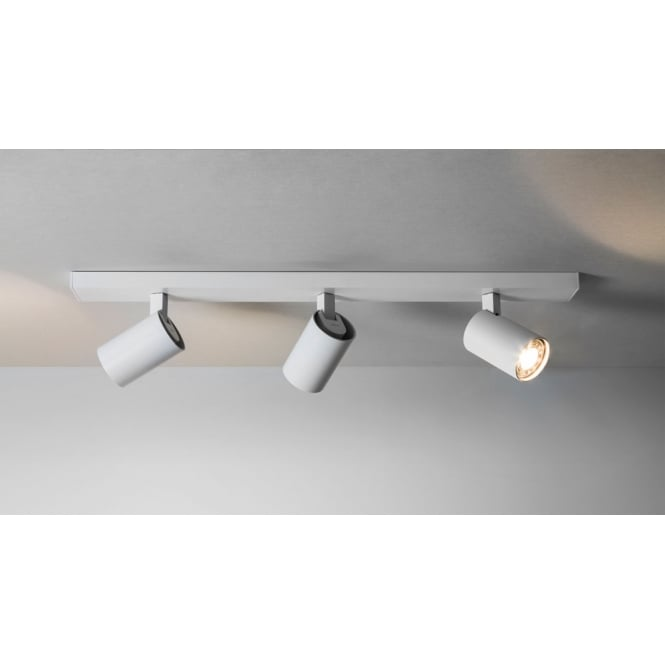 Astro Lighting Ascoli 3 spotlights with White Bar
