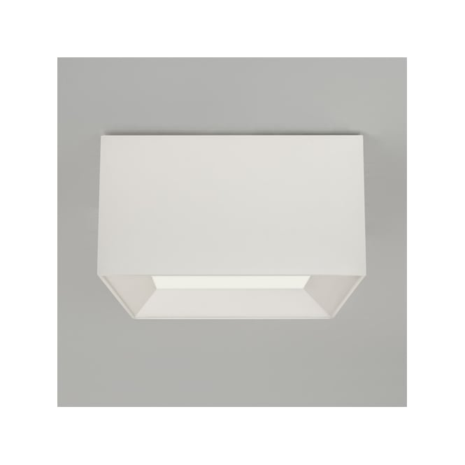 Astro Lighting Bevel Square Small White Shade