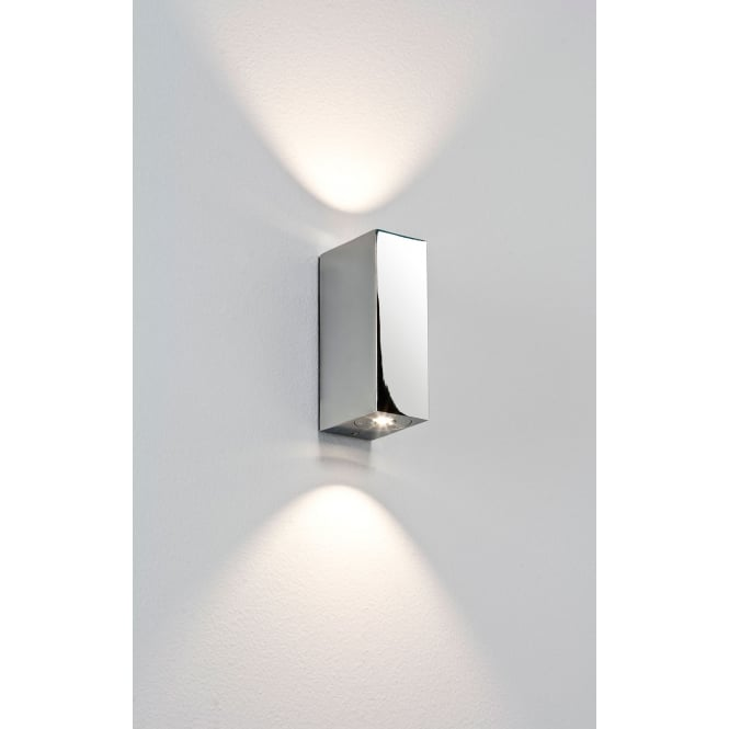 Astro Lighting Bloc MK2 LED up/down wall light chrome