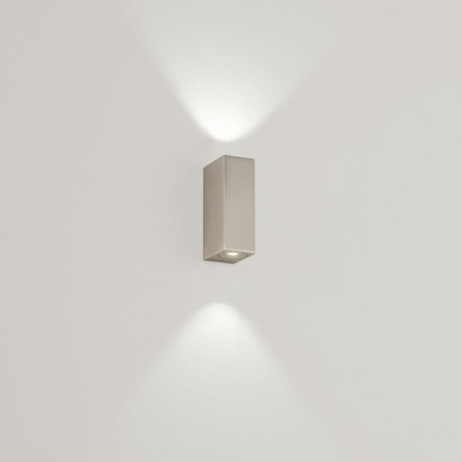 Astro Lighting Bloc MK2 LED up/down wall light matt nickel