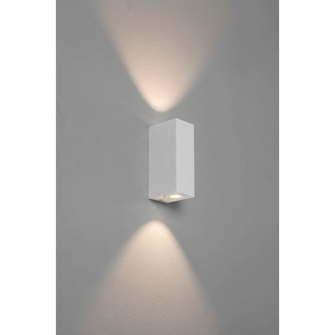 Astro Lighting Bloc Painted White up/down LED wall light