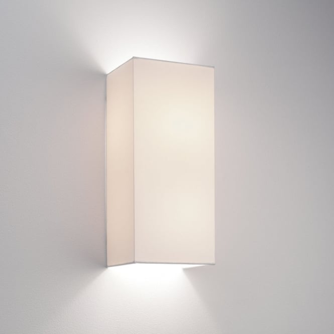 Astro Lighting Chuo 380 White fabric finish shade