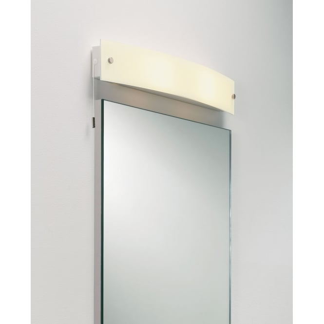 Astro Lighting Curve bathroom wall light White glass diffuser