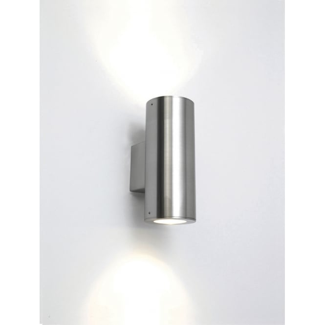 Astro Lighting Detroit up and down wall light stainless steel finish
