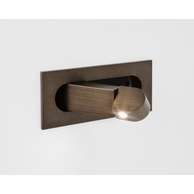 Astro Lighting Digit switched interior wall light Bronze finish