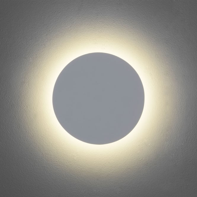 Astro Lighting Eclipse Round 250 wall light Plaster finish