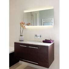 Fuji 950 illuminated sandblasted detailed mirror