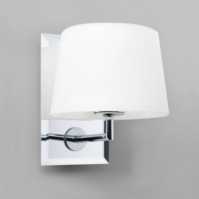 Astro Lighting Image mirrored interior wall light white opal glass