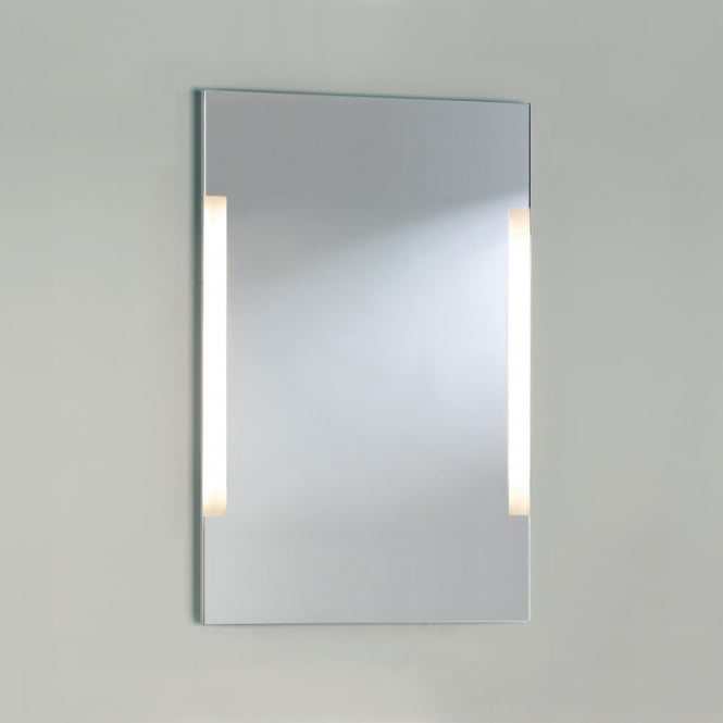 Astro Lighting Imola 900 mirror sandblasted detail with chrome frame