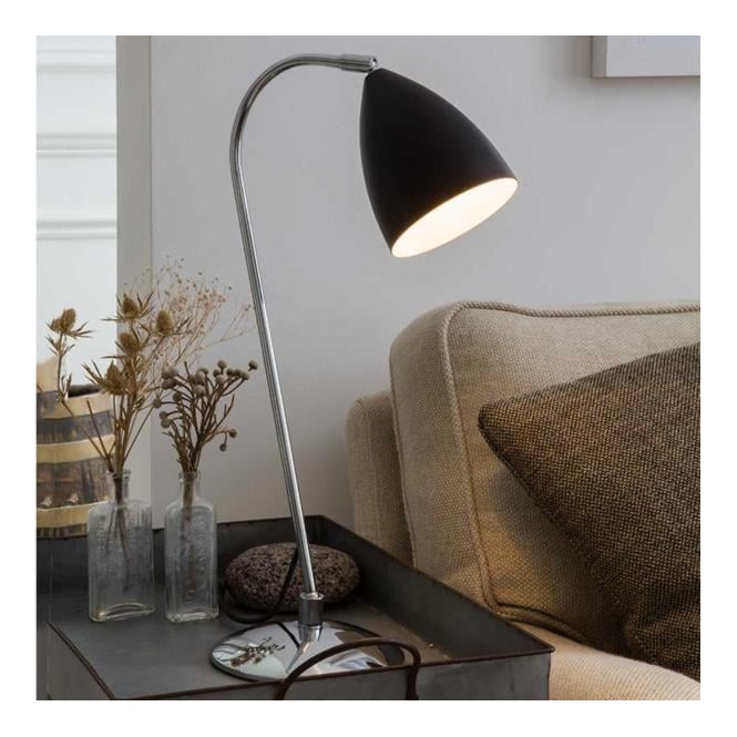 Astro Lighting Joel Table Light painted black finish