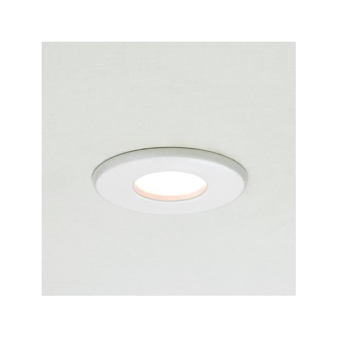 Astro Lighting Kamo GU10 fire rated downlight white finish