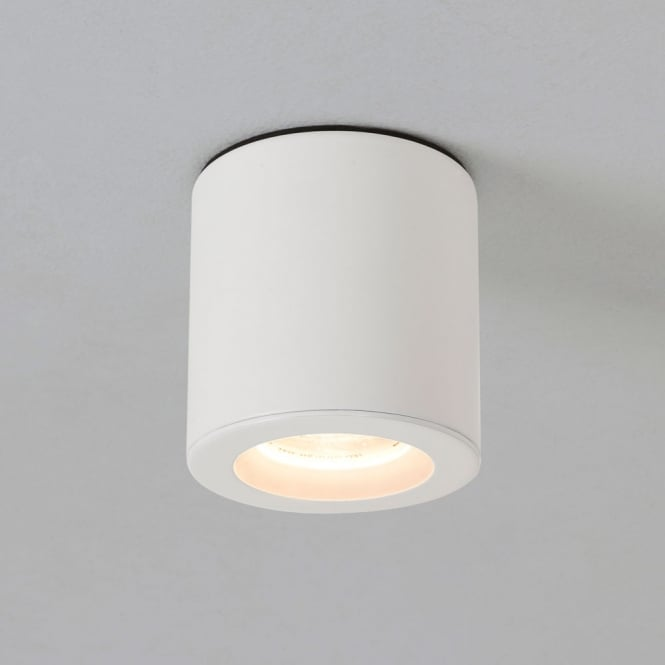 Astro Lighting Kos cylindrical ceiling light Painted White