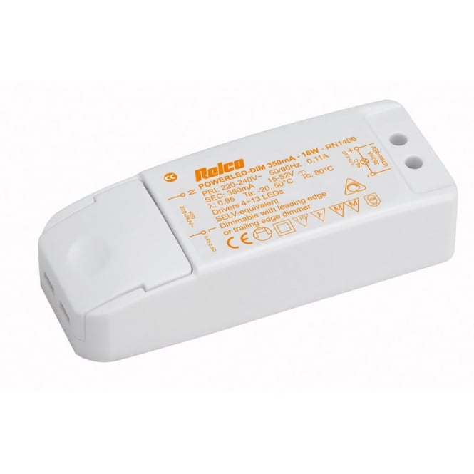 Astro Lighting LED Driver - 18W 350mA Constant Current (Phase Dimming)