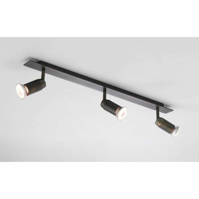 Astro Lighting Magna three bar spotlight bronze finish