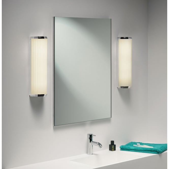 Astro Lighting Monza Plus 400 bathroom wall light white opal glass