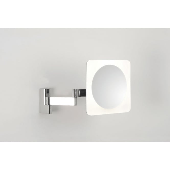 Astro Lighting Niimi Square Magnifying mirror polished chrome