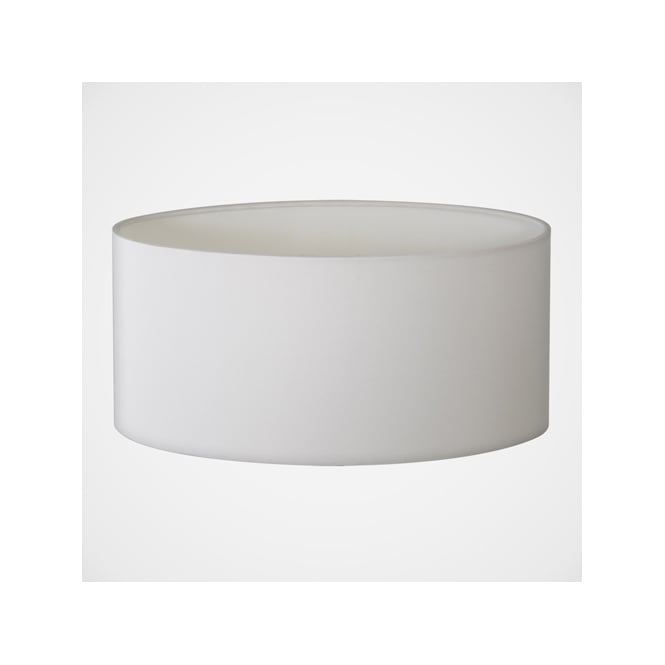 Astro Lighting Oval white fabric shade
