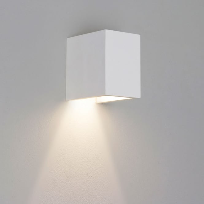 Astro Lighting Parma 110 interior wall light white plaster finish