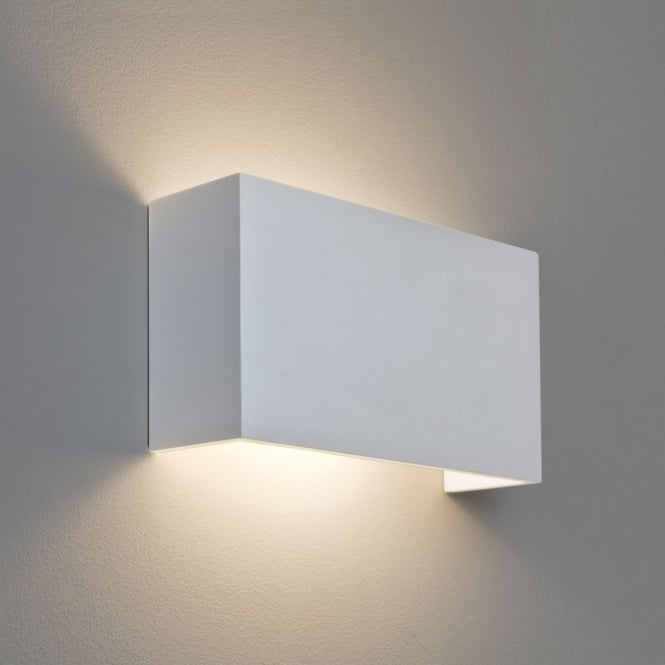 Astro Lighting Pella 325 white Plaster Wall Light