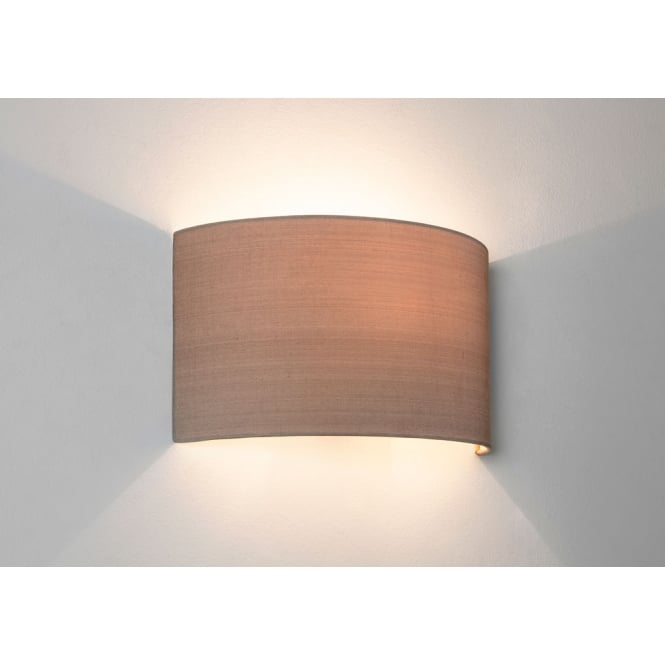 Astro Lighting Petra 180 wall light Oyster fabric finish