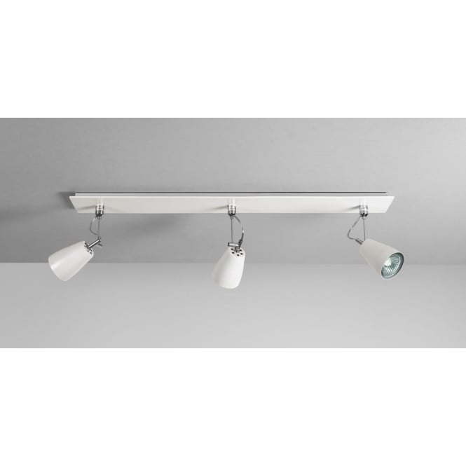 Astro Lighting Polar interior white triple bar spotlight