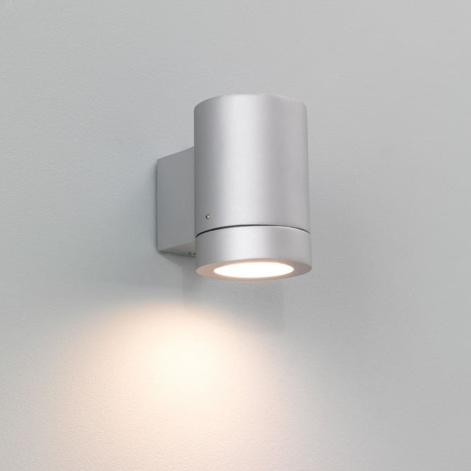 Astro Lighting Porto Plus single exterior wall light silver finish