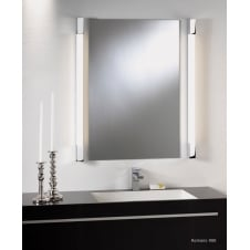 Romano 600 bathroom wall light polished chrome