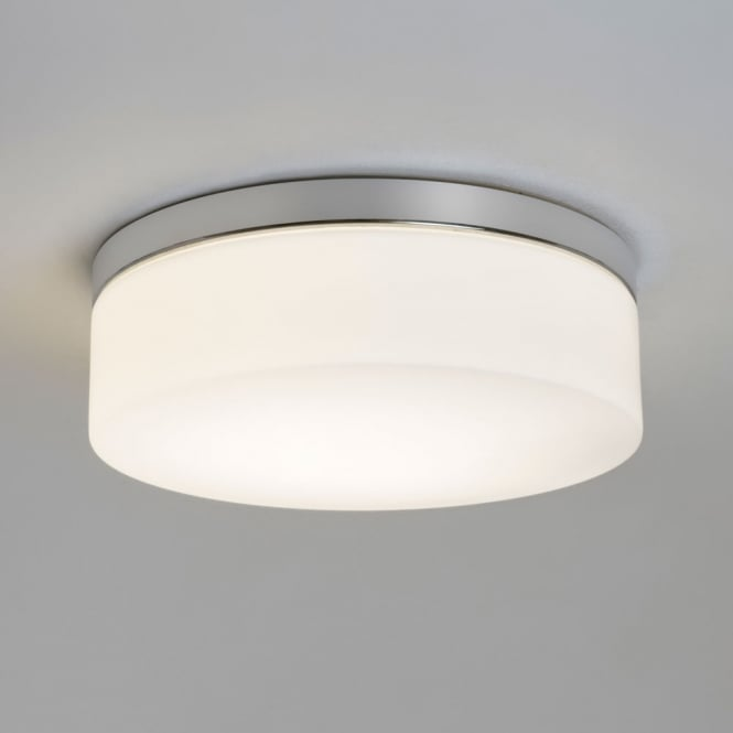 Astro Lighting Sabina Round 280 bathroom Ceiling light white opal glass