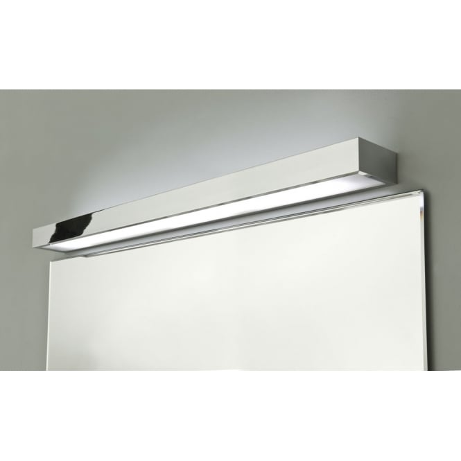 Astro Lighting Tallin 900 bathroom wall light polished chrome white glass