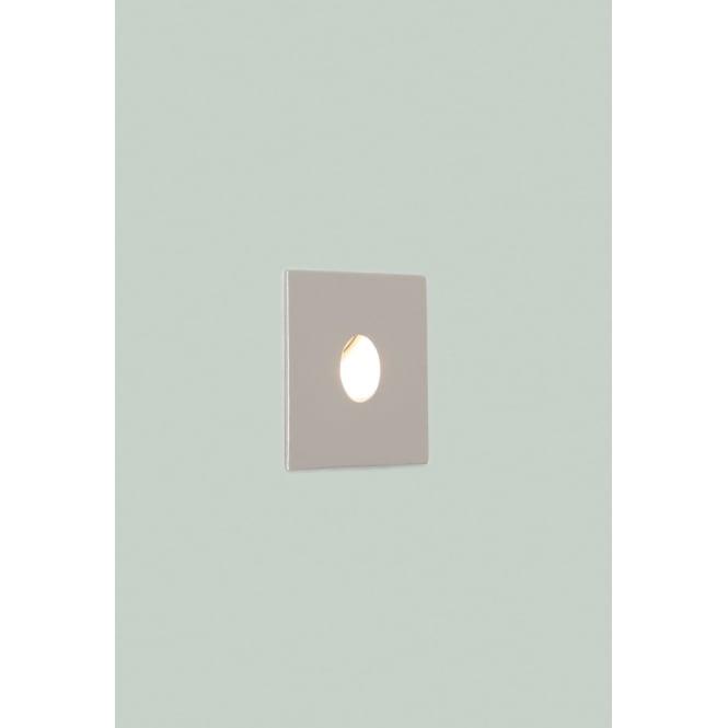Astro Lighting Tango LED wall light painted silver finish
