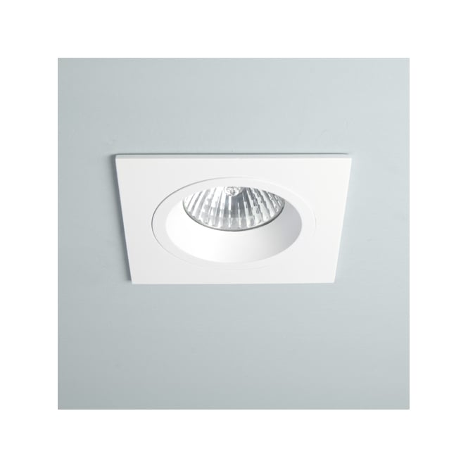 Astro Lighting Taro square fixed downlight white finishe