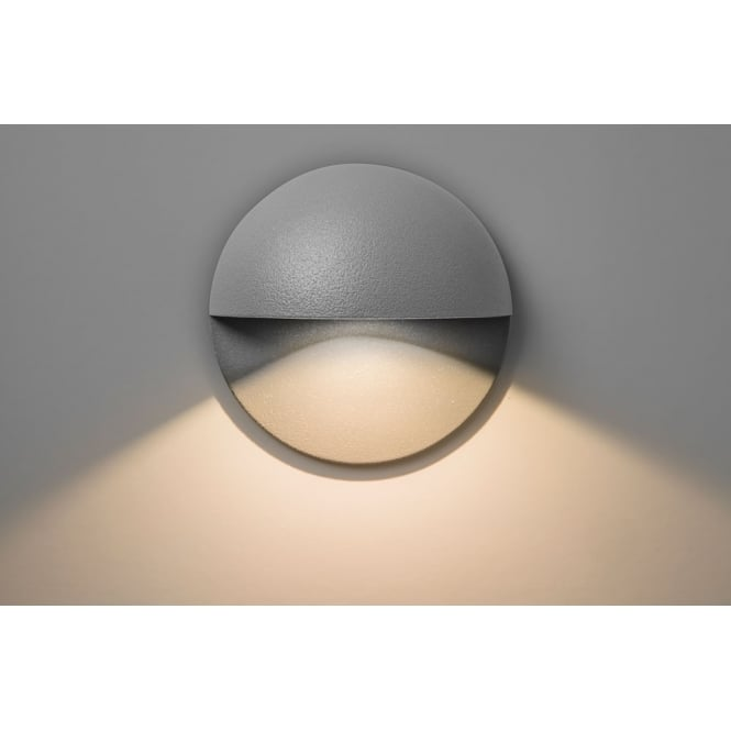 Astro Lighting Tivoli LED exterior wall light painted silver finish
