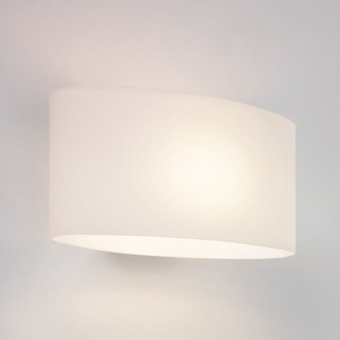 Astro Lighting Tokyo interior wall light white opal glass polished chrome