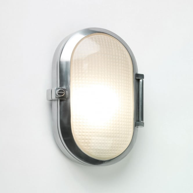 Astro Lighting Toronto oval outdoor wall or ceiling light polished aluminium finish