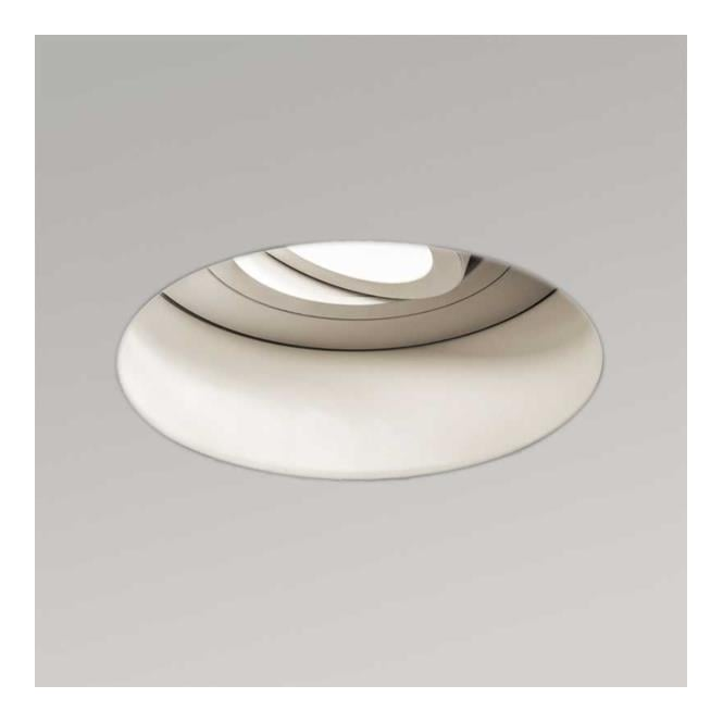 Astro Lighting Trimless Adjustable Round ceiling light white finish