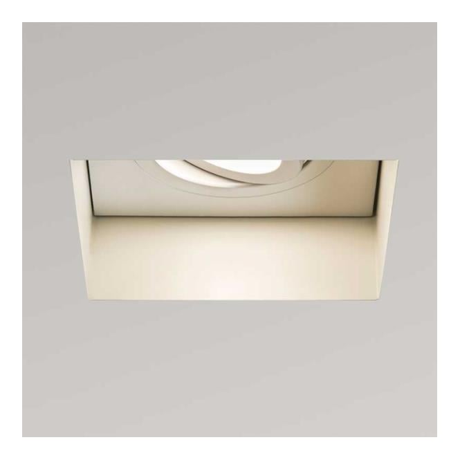 Astro Lighting Trimless adjustable Square ceiling light white finish