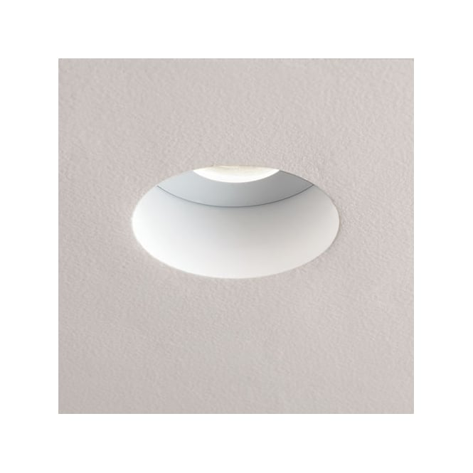 Astro Lighting Trimless GU10 fire rated downlight white finish