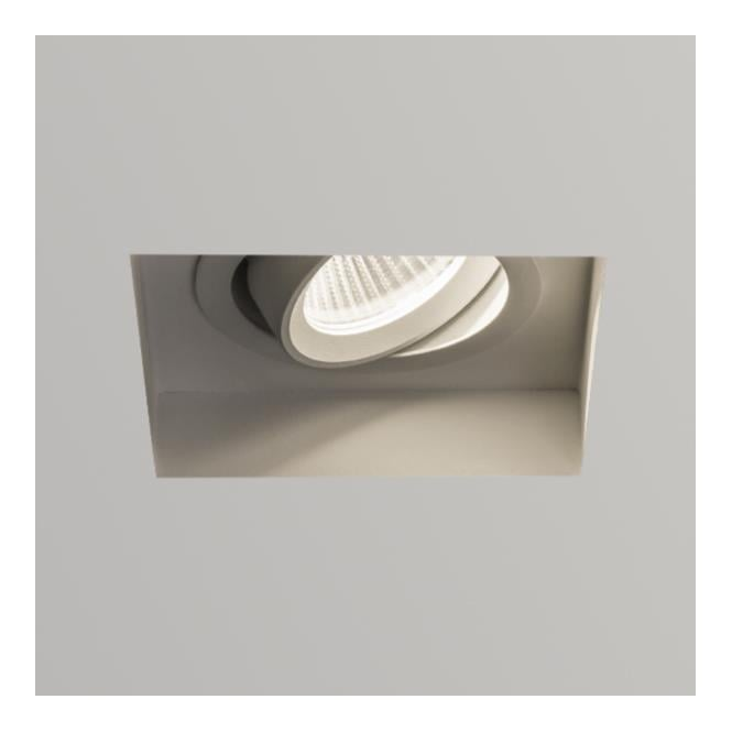 Astro Lighting Trimless LED Square adjustable White finish