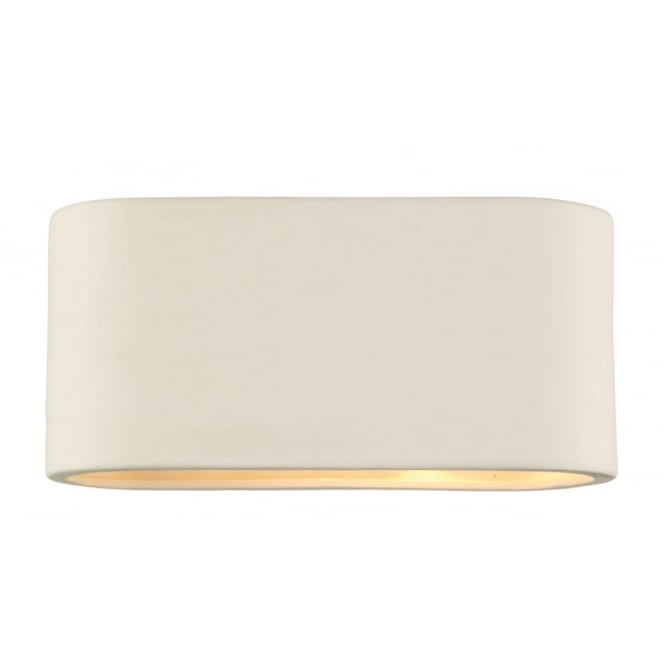 Dar Lighting Axton Ceramic Wall Light Large