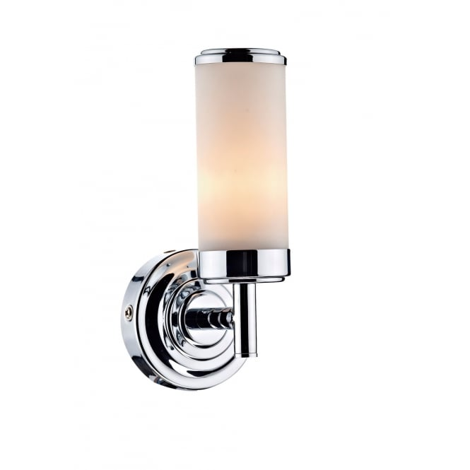 Dar Lighting Century Single Wall Bracket Polished Chrome IP44