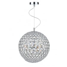 Fiesta 5 Light 35CM Pendant Polished Chrome