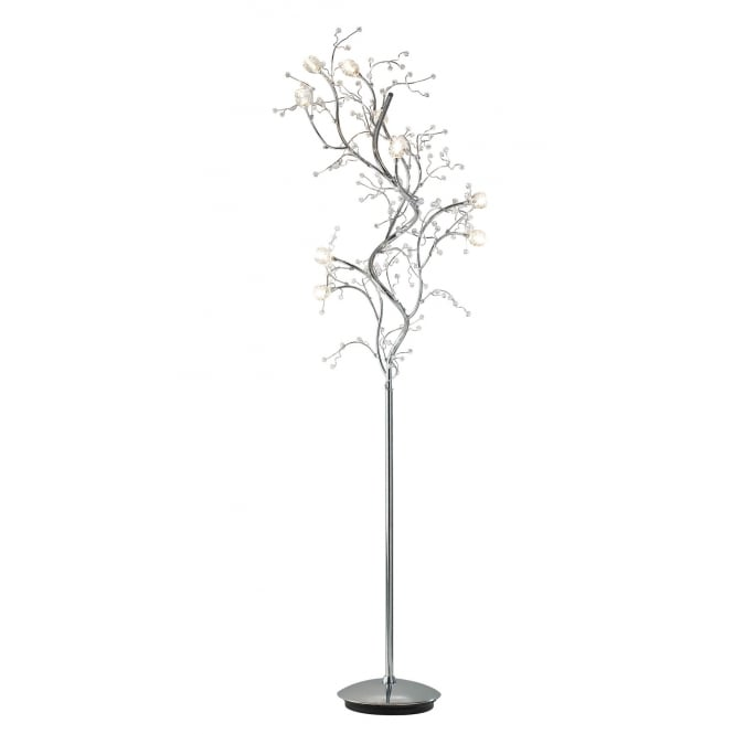 Dar Lighting Gazetta 10 Light Floor Lamp
