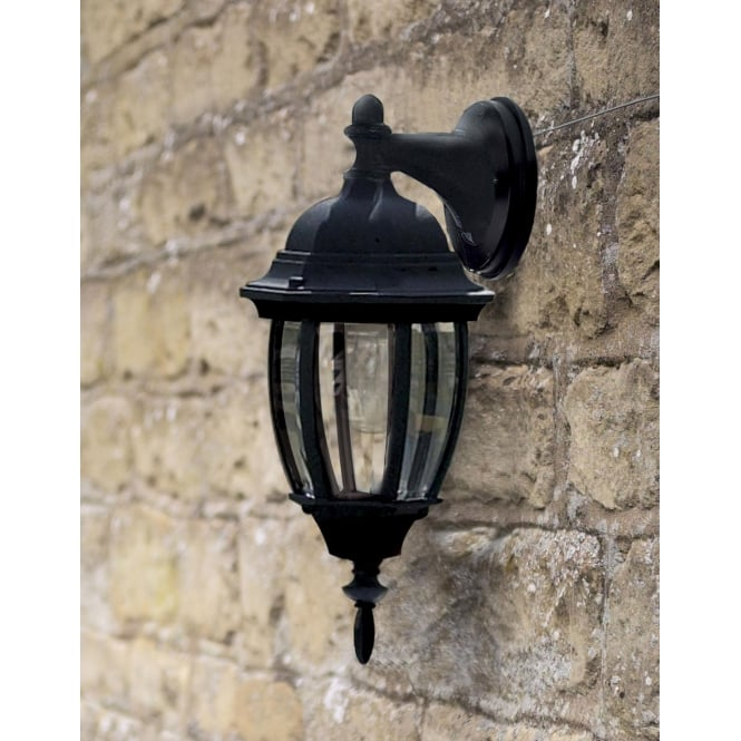 Dar Lighting Hambro Uplighter Wall Bracket Black