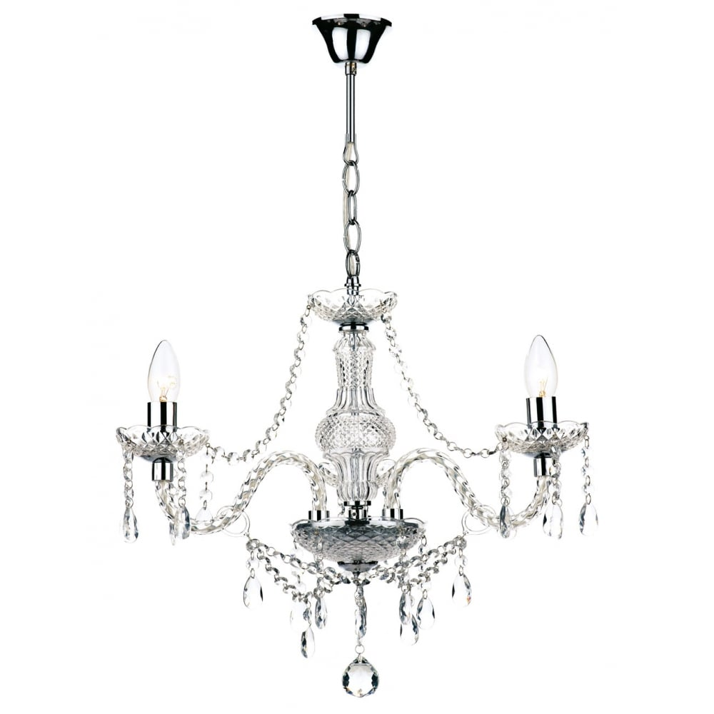 KATIE double insulated chandelier high or low ceilings