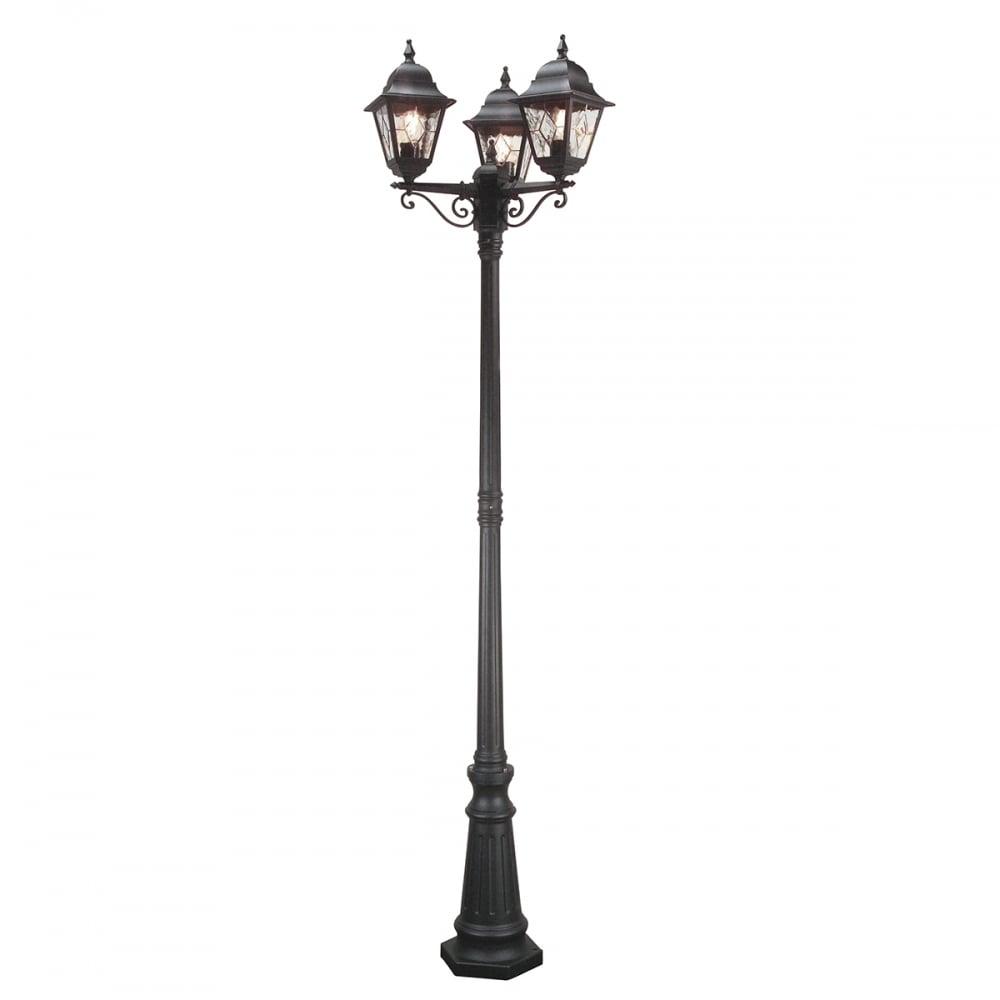 Elstead Lighting Nr8 Blk Norfolk Lamp Post In A Black Finish