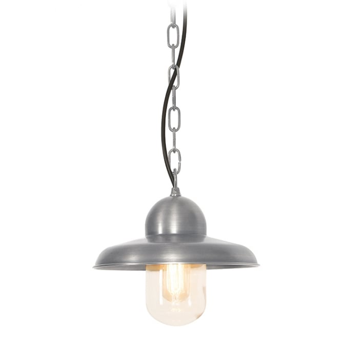 Elstead Lighting Somerton Chain Lantern with a antique nickel finish