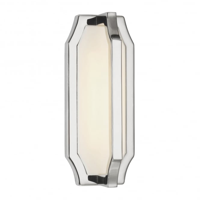 Feiss Audrie Wall Light with a polished nickel finish
