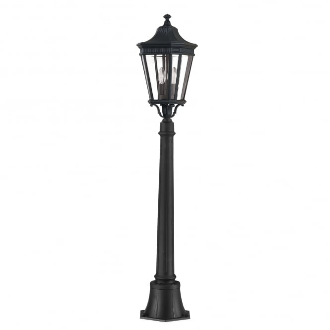 Feiss Cotswold Lane Medium Pillar with a black finish
